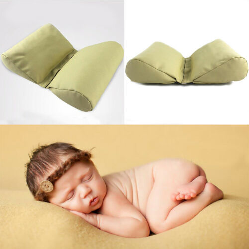 Butterfly PU Leather Foldable Pillow Newborn Baby Photography Props With Zippers