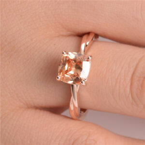 Fashion-Rings-for-Women-Wedding-Ring-Rose-Gold-Filled-Jewelry-Citrine-Size-6-10
