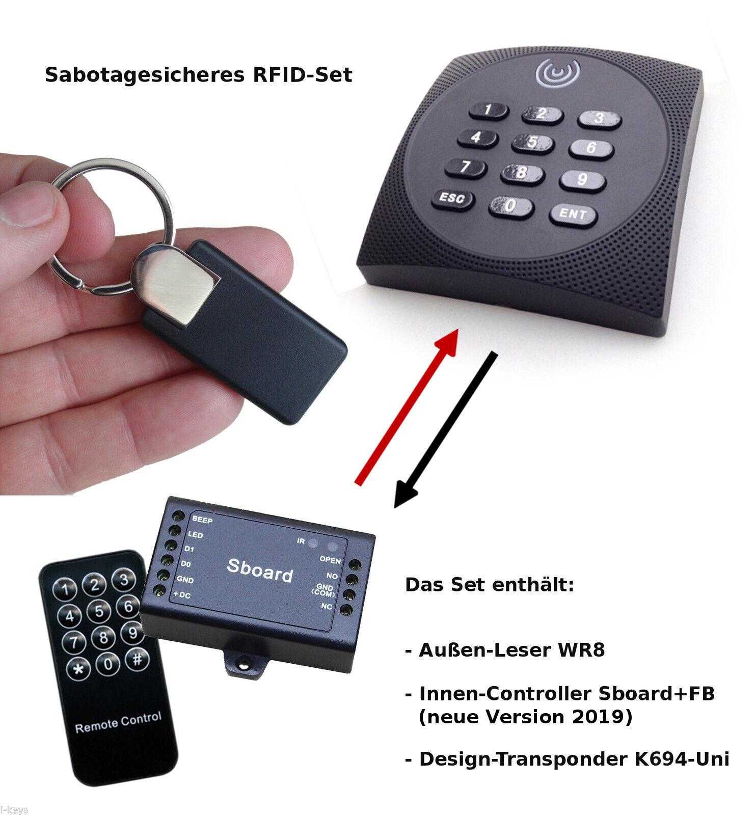 Profi-Codeschloss innen außen, sabotagesicher, RFID PIN, IP65, Sboard-Controller | München Online Shop  | Sonderkauf  | Modern Und Elegant  | 2019