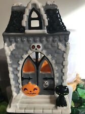 BATH & BODY WORKS HALLOWEEN HAUNTED HOUSE SOAP OR MINI CANDLE HOLDER PUMPKIN CAT