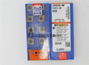 10pcs//box Korloy CCMT09T304-HMP NC3030 CCMT32.51-HMP CNC Carbide Insert