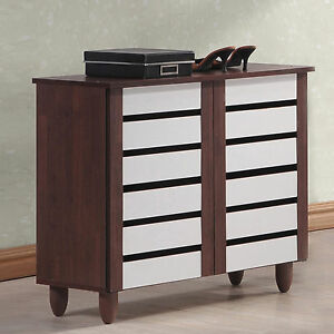 modern shoe cabinet shoe cabinet storage modern organize wood furniture rack 23569