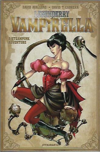 LEGENDARY VAMPIRELLA 1ST PRINTING JOE BENITEZ COVER A STEAMPUNK ADVENTURE NM