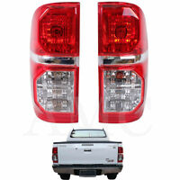 For 05-12 Toyota Pickup Hilux Mk6 Pickup Tail Back Rear Lights Pair