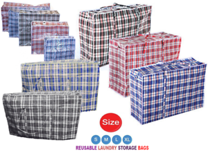 Storage Moving UK Stock Laundry Bags Jumbo Extra Strong and Durable Shopping