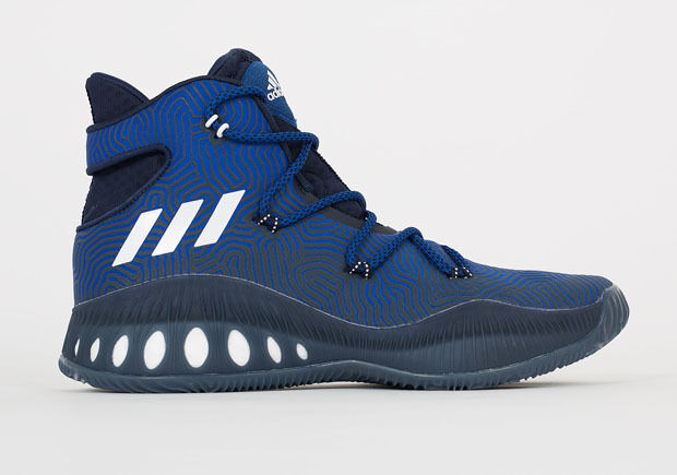 Adidas Crazy Explosive 1.0 size 8. Blue Navy White. B49394. ultra boost