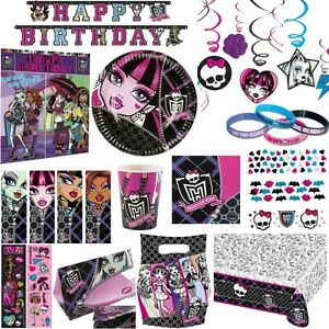 Monster high party set deko kinderparty kindergeburtstag for Kindergeburtstag party set
