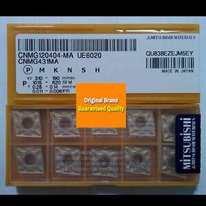 10pcs MITSUBISHI CNMG120404-MA UE6110 CNMG431MA UE6110  New Carbide Inserts