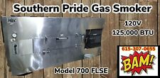 Southern Pride Model 700 Flse Gas Wood Fired Commercial Smoker Oven