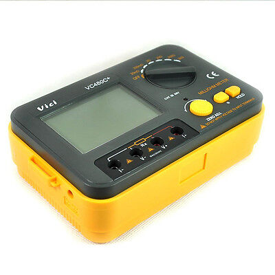 Vici Vc480c+ 3 1/2 Accuracy + 4 Wire Test Multimeter Digital Milli-ohm Mete A0R4