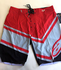Alpinestars Men's Board Shorts HD3 Plyometric Red/Grey Size 31 NWT Villopoto
