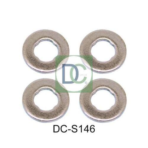 Sigilli confezione da 4 FORD KUGA 2.0 TDCi Bosch Diesel Iniettore RONDELLE
