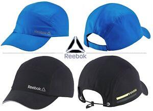 edae0539647 Image is loading Reebok-5-Panel-Blue-Black-Unisex-Running-Hats-