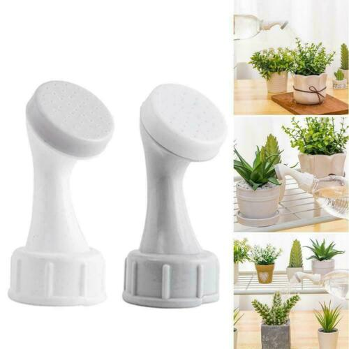 2X Plant Waterer Sprinkler Nozzle Garden Home Potted Watering Bottle Head W7O4