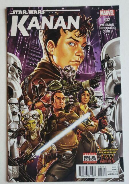 Star Wars Kanan The Last Padawan #12 1st Appearance of Admiral Rae Sloane Marvel
