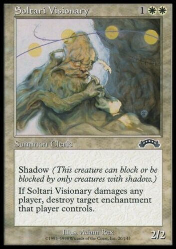 Exodus *CLERIC,SHADOW* MTG 4x SOLTARI VISIONARY