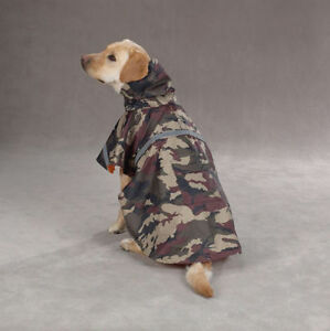 Dog-Boy-Girl-Clothes-Guardian-Gear-Rain-Jacket-Waterproof-Green-Camo-XS-or-Small
