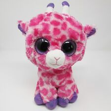 dec89f384e1 Ty Beanie Boos 2014 Glitter Eyes Twigs The Pink Giraffe for sale ...