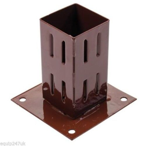 4 x 75 MM  GRIP FENCE POST SUPPORT