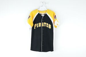 Majestic-Youth-Large-Pittsburgh-Pirates-Andrew-McCutchen-Baseball-Jersey-22