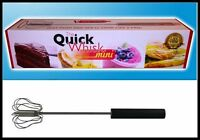 The Quick Whisk Mini Stainless Rotary Whisk 10 Size Choose Your Color