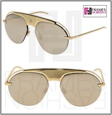 1b5a8cc025f9e CHRISTIAN DIOR REVOLUTION 2 Gold Mirrored Metal Aviator Sunglasses  Evolution2