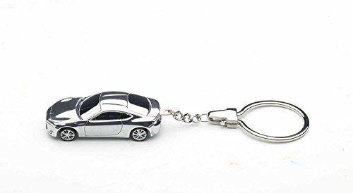 from Japan* aluminum AUTOart 1//87 scale Toyota 86 key chain