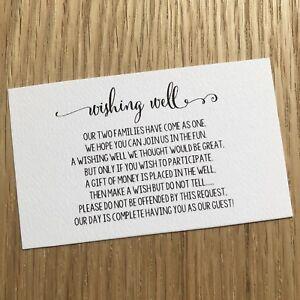 Poem Wedding Invitations Black White