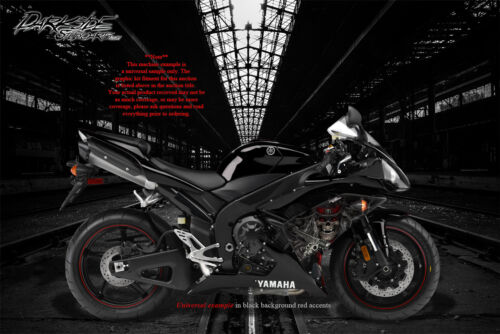 """YAMAHA 2002-2014 YZF-R1 /""""THE OUTLAW/"""" GRAPHICS WRAP FOR SHROUD COWLING FAIRING"""