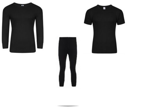 Men/'s Thermal Long Johns Top Bottom Underwear Trousers T Shirt and Full Set