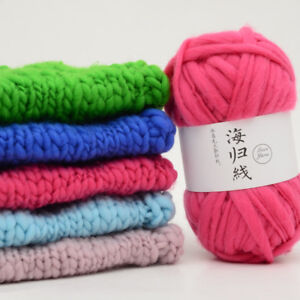 Knitting-Crochet-Milk-Super-Soft-Baby-Sheep-039-s-Wool-Yarn-Best-For-Kids-2018-CA