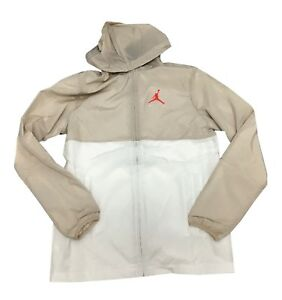 0c0e66183d5065 Image is loading Jordan-Jumpman-Air-Windbreaker-Dessert-Sand-White