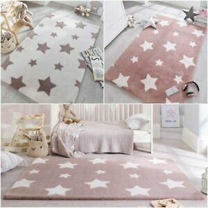Details About Playful Cosmic Star Design Soft Kids Baby Room Rug In 90 X 150 Cm 2 9 X5