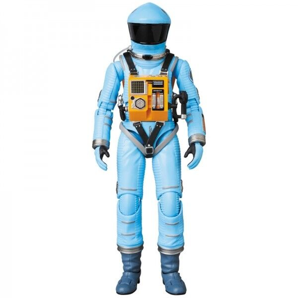 MEDICOM TOY MAFEX 2001 A SPACE ODISSEY SPACE SUIT Blau VERSION NEW