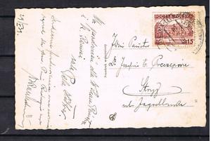 Polen-1939-Marke-317-auf-Postkarte-Krynica-034-Dyrektorowka-034