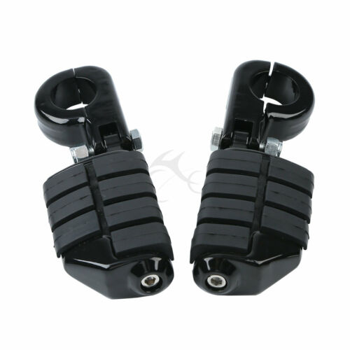 "1-1//4/"" 1.25/"" 32mm Highway Engine Guard Footpeg Pegs Footrests Mount Clamps US"