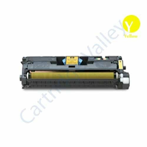 Compatible Replacement for HP Q3962A Yellow Toner Cartridge for 2550 2840 2840
