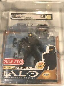 Halo-Wars-Spartan-Soldier-Mark-IV-Black-RARE-Action-Figure-AFA-GRADED-9
