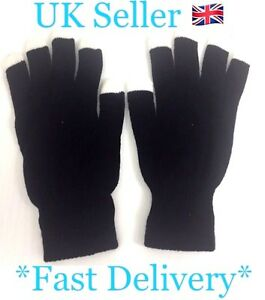 LED light Up Gloves 3 LEDs In Each Finger Fits All Hand Sizes Age 8+ SL