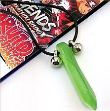 Naruto Uzumaki Tsunade Green Charms Cosplay Pendant Necklace
