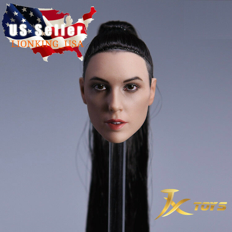 1 6 Gal Gadot Female Head Sculpt B For Wonder Woman TBLeague Hot Toys ❶USA❶