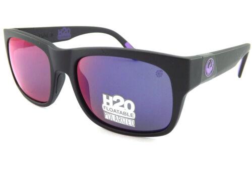 TAILBACK H2o Polarised Floating Sunglasses Black// Plasma Ion Mirror 038 DRAGON
