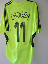 Chelsea 2007-2008 Drogba 11 CL Away Football Shirt Size Large /34725
