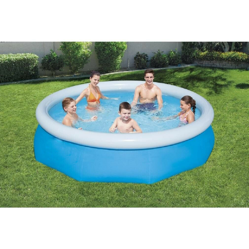 Inflatable Swimming Pool cover Summer Garden Paddling Pools Kids Fun 210 cm
