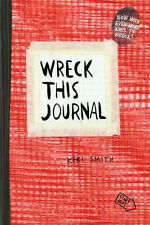 Wreck This Journal (Red) Expanded Ed.   by Keri Smith  (Diary)