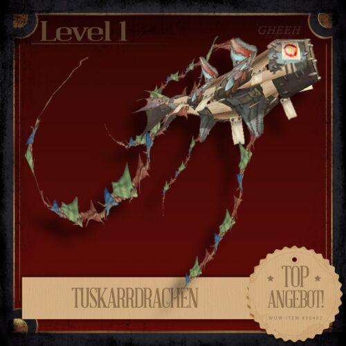 » TuskarrdrachenTuskarr KiteWoWWorld of WarcraftTCGHaustier «