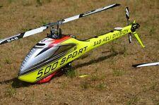 SAB Goblin 500 Sport RC-Hubschrauber RTF  + AXON Autopilot + Graupner MZ 24 Pro