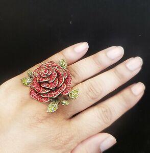 Heidi-Daus-Ravishing-Rose-Ring-Size-9-Brand-new