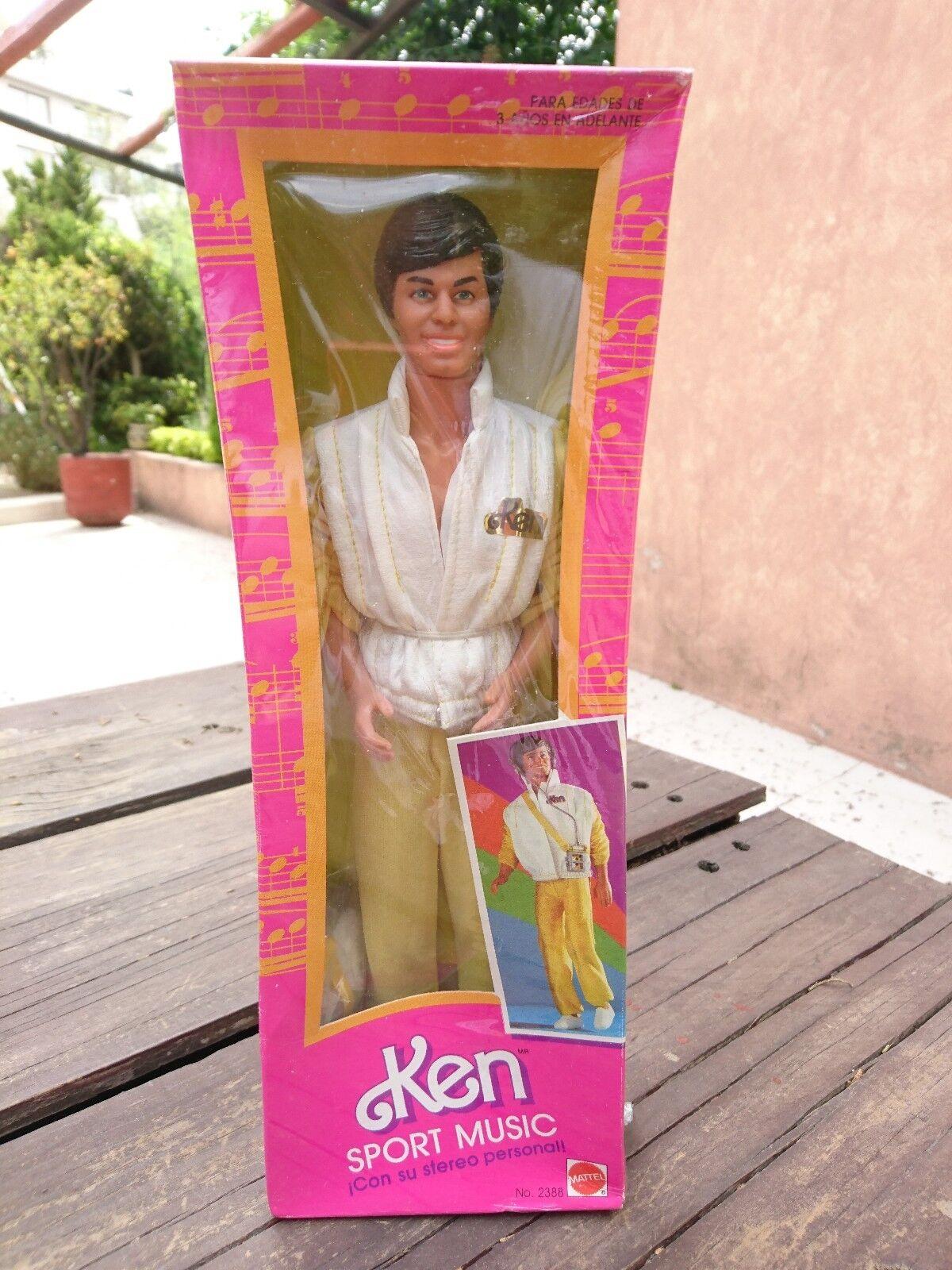 1985 Vintage Mexicano Ken Deportes música México Aurimat Nuevo-perfecto Estado-ob extranjeros Mattel