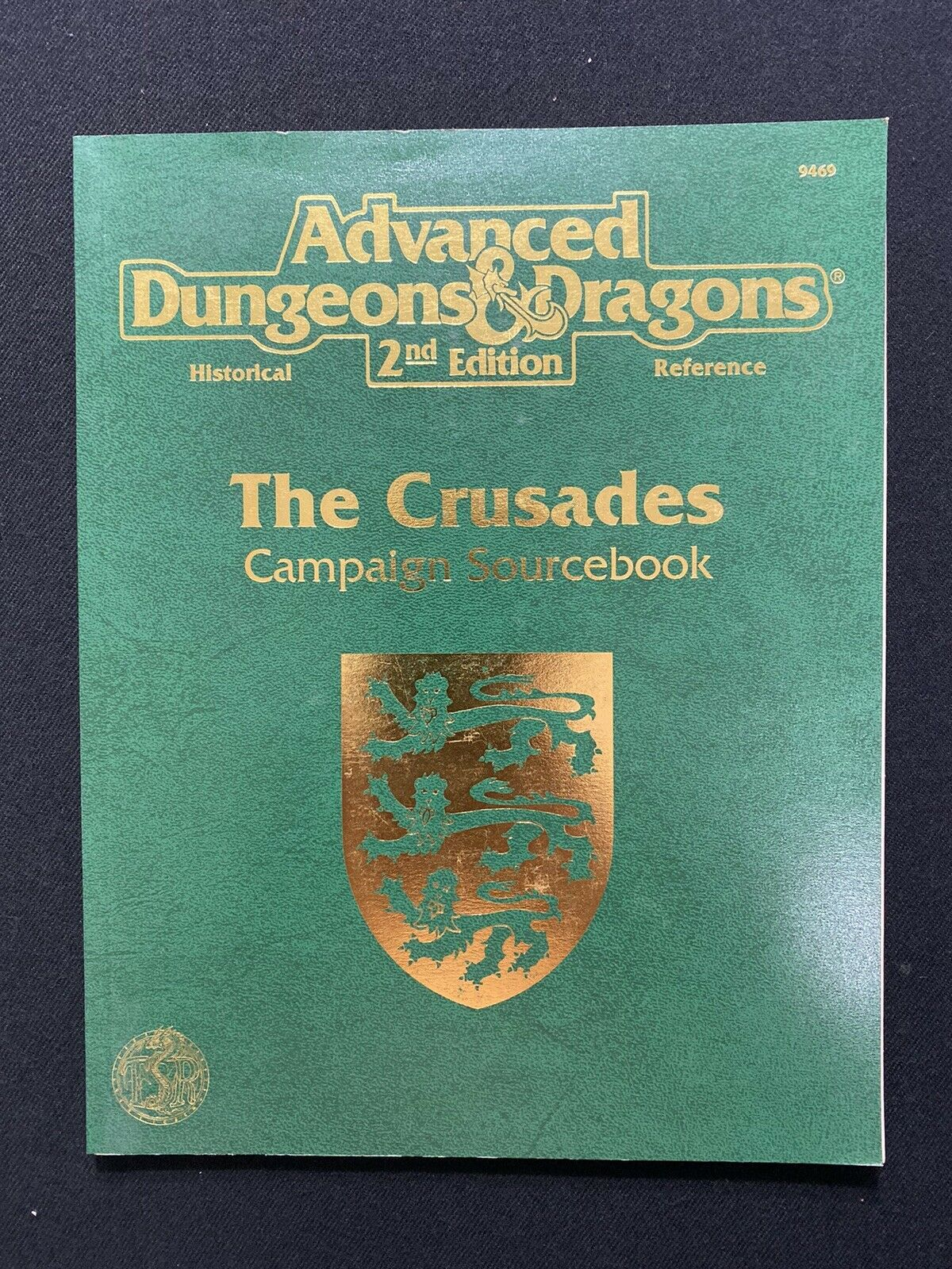 Advanced Dungeon & Dragons 2nd Edition The Crusades Campaign Sourcebook 9469